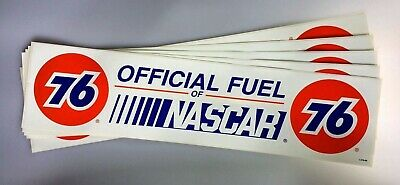 Union 76 Unocal Gasoline Official Fuel of NASCAR Lot of 5 Stickers Racing 21 in