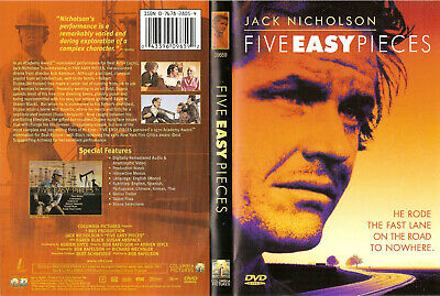 Five Easy Pieces - 1970 (DVD, 1999) WS/FS Free Ship #0520HV