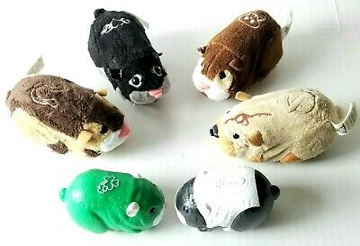 Zhu Zhu Pets Exclusive Hamster Toy Justice Cepia