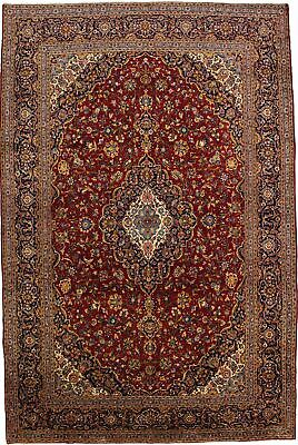 Over-sized Traditional Floral 10X15 Handmade Palatial Oriental Carpet Area Rug