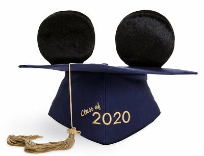 Disney 2020 Mickey Mouse Graduation Ear Hat For Adults