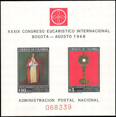 Colombia #781a MNH s/s