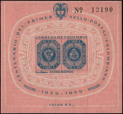 Colombia #C355 MNH VF