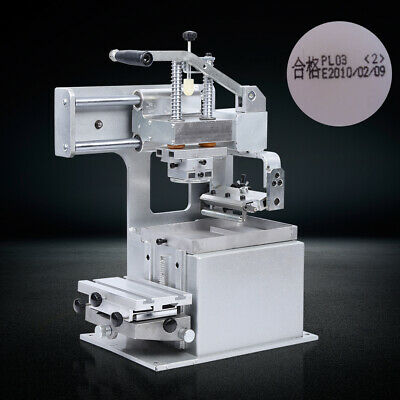 Manual Pad Printing Machine Pad Printer Open Ink Dish System Plate Pad DIY Print