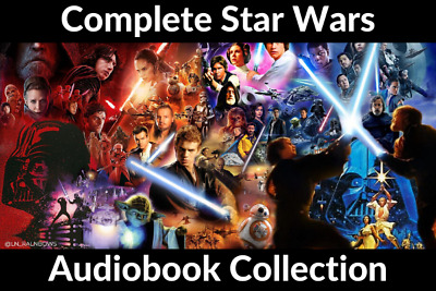 Complete Star Wars Audio Book Collection 📧eMail delivery📧