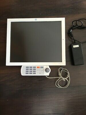 "GE CDA19 19"" Flat Panel Touch-Screen Monitor Power Supply Hospital GP surgery"