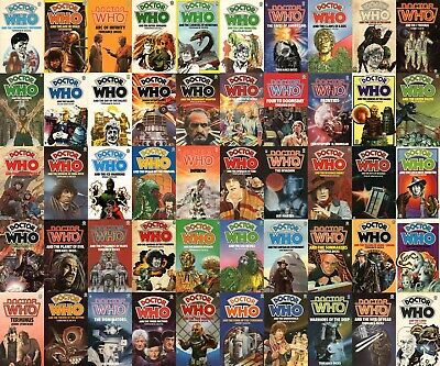 Doctor Who Books - Mega Collection (Audiobook and Books) 📧eMail delivery📧