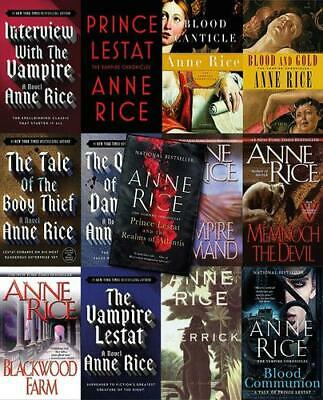 The Anne Rice Audiobook Collection 📧eMail delivery📧