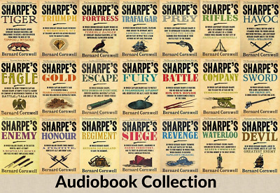 The Complete Sharpe Collection Audiobooks - Bernard Cornwell 📧eMail delivery📧