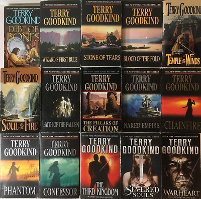 Terry Goodkind - Sword of Truth Complete Choronological Collection