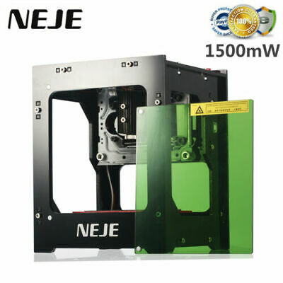 NEJE 1500MW 405nm Lase r Engraver Machine AI Printer DIY Engraving Cutter B1V7