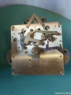 FRANZ HERMLE CLOCK MOVEMENT spares or repair untested
