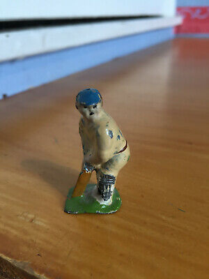 1928 RARE Pixyland & F Kew Batsman Cricketer Lead Figure handpainted