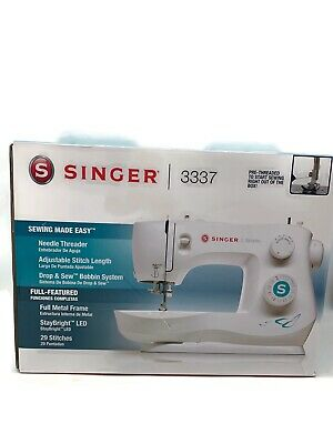 Brand New Singer Sewing Machine 3337 Needle Threader Adjustable Stitch Length