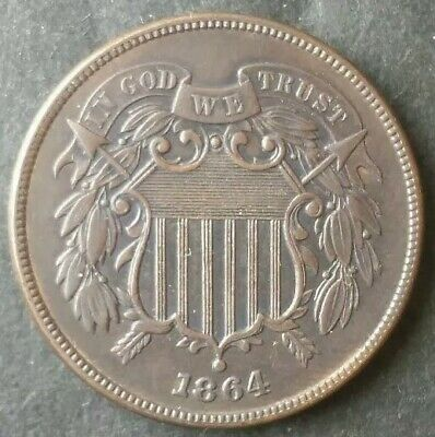 1864 2c Two-Cent Piece