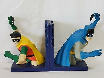 *** BATMAN & ROBIN *** Bookends WBSS Warner Brothers with Box