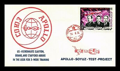 Dr Jim Stamps Apollo Soyuz Test Project Space Mission Ussr Russia Cover