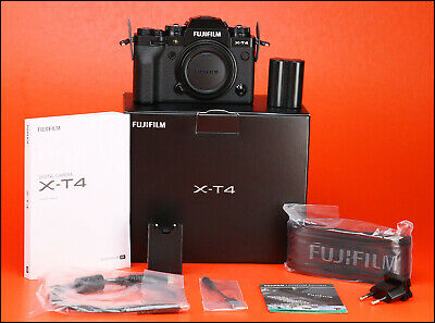 Fujifilm X-T4 Fuji Mirrorless Camera Body with Box & Accessories -Only 315 Shots