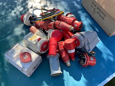 Job lot of 3 phase connectors