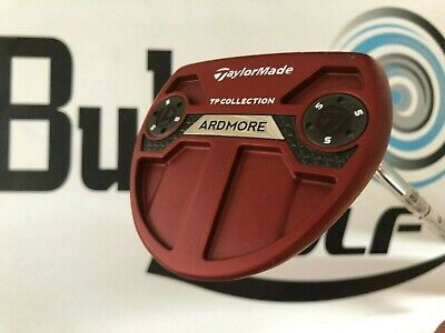 New Taylormade TP collection Ardmore red right handed putter 35 inches G574