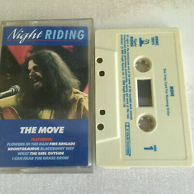 The Move - Night Riding - Tape Cassette Album