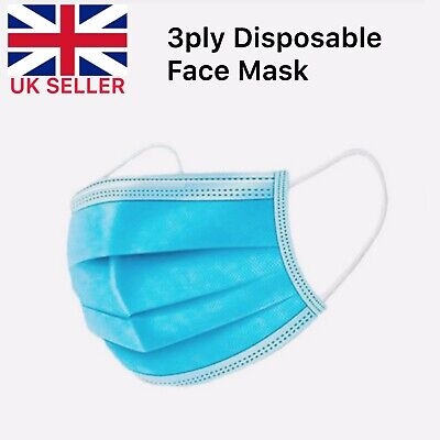 (50 Pcs) Premium Quality Face Mask For Safety & Protection