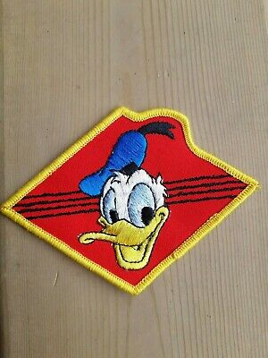 Donald Duck Patch, New No Pkg, 4.5 Inches X 3.25 Inches Appox