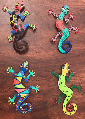 Metal Lizard Gecko Wall Hangings