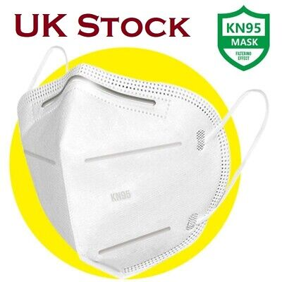 KN95 FFP2 Face Mask Surgical Reusable Mouth Guard Anti Particle Respirator UK