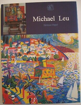 Michael Leu Signed First Edition 2003 Hard Cover Book CATS, Tropical Locations
