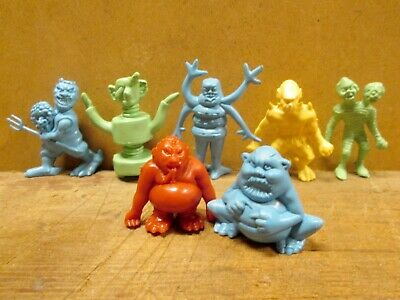 7 Different HING FAT / FISHEL TERRIBLE MONSTER FIGURES - FREE Postage