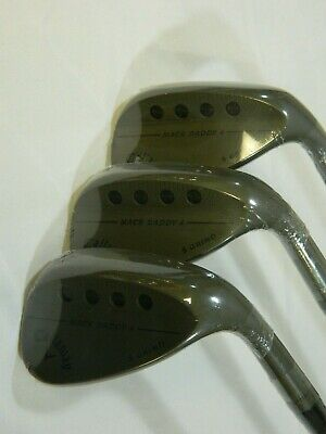 New Callaway MD4 Tactical Wedge set 52.10S AW 56.10S SW 60.10S LW - Wedges Mack