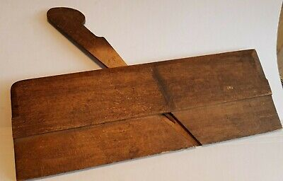 Antique Mathieson Wood Molding Plane No Blade Old tool