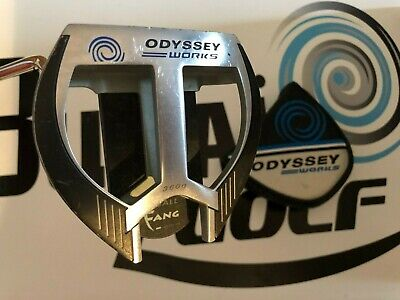 Putter Odyssey Works 2-ball fang men's left hand 34 inches with head cover G590