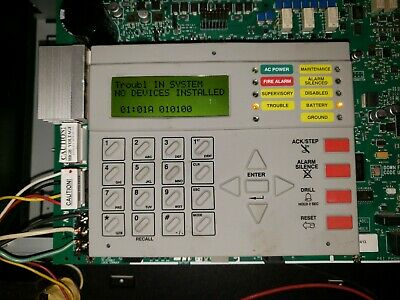 Notifier Nfw2-100 Fire Warden Fire Alarm Control Panel Replacement Board