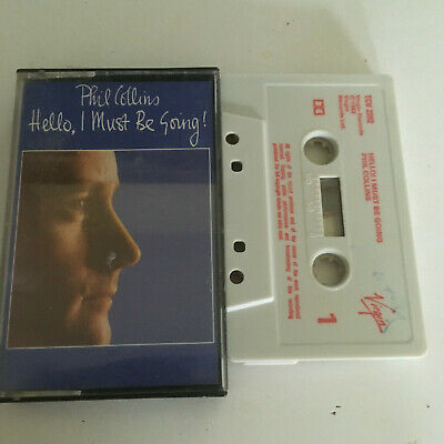 Phil Collins - Hello,I Must Me Going ! - Tape Cassette Album