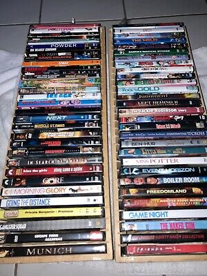 DVD Lot Of 58 Assorted Movies All Disc In Great Condition Many Are NEW SEALED