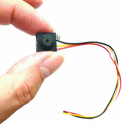 600TVL Hidden pinhole SPY Security CCTV Cam micro camera mini Audio lens camera
