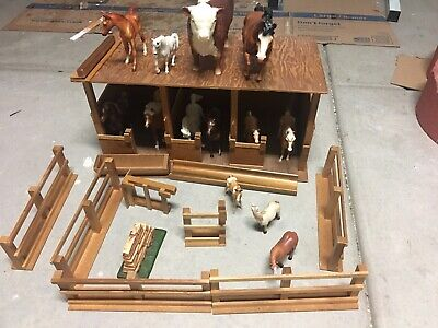 Breyer Western Horse Stable Kids Toy Play Set With 2 Horses 1:32 Scale Age 4+
