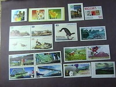 Canada # 2090 & 2092-2109-Mint Never/Hinged--16 Stamps --2005