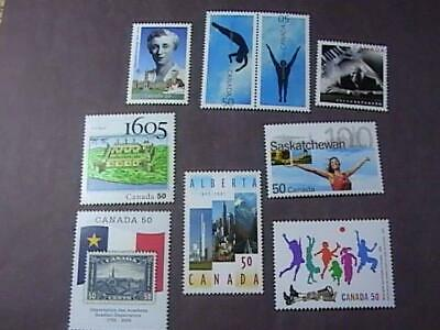 Canada # 2112-2120--Mint Never/Hinged--9 Stamp Run--2005