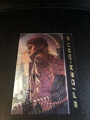 Spiderman 2 Scotties Lenticular Card (2004)