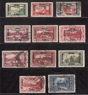 Mesopotamia, 1918-20 British Occupation Lot 11 Used Stamps !!  E62