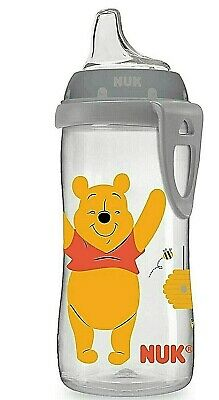 NUK Disney Active Sippy Cup, Winnie the Pooh, 10oz 1pk 1 Pack 10 Ounce