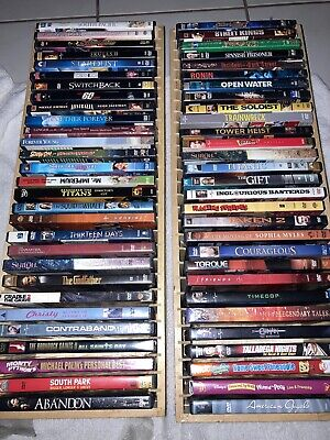 DVD Lot Of 58 Assorted Movies All Disc In Great Condition Comedy Horror Action.