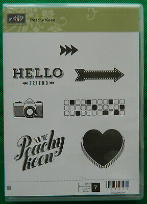 Retired Stampin' Up! Peachy Keen