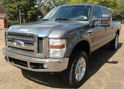 2010 Ford F-250 Lariat FX4 Diesel HEATED LEATHER SEATS Turnover Ball AUTO CLIMATE Tow Command KEYLESS ENTRY