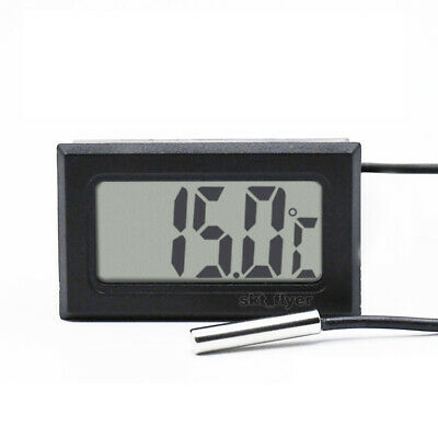 LCD Digital Thermometer Professional Temperature Mater Waterproof Probe -50~110C