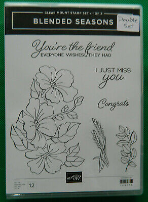 Retired Stampin' Up! Blended Seasons stamp set