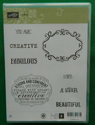 Retired Stampin' Up! I Am stamp set